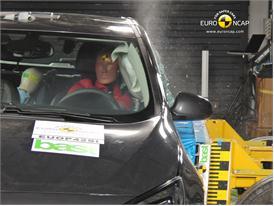 OPEL Vauxhall Astra GTC – Side crash test