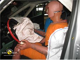 Opel Vauxhall Zafira – Driver crash test