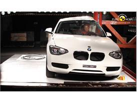 BMW 1 Series – Pole crash test