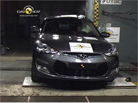 Hyundai Veloster – Pole crash test