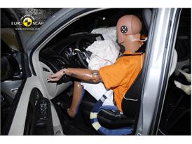 Lancia Voyager – Driver crash test