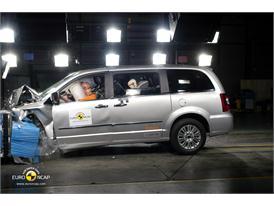 Lancia Voyager – Front crash test