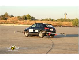 Audi Q3– ESC test