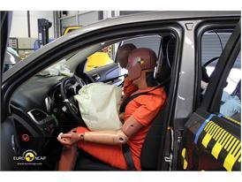 Fiat Freemont – Driver crash test