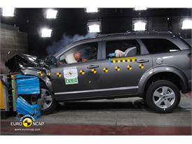 Fiat Freemont – Front crash test