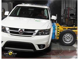 Fiat Freemont – Side crash test