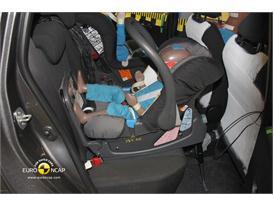 Toyota Yaris – Child Rear Seat crash test