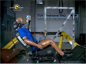 VW Beetle – Whiplash crash test