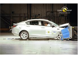 MG6– Front crash test