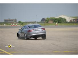 Jaguar XF – ESC test