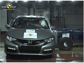 Honda Civic – Side crash test