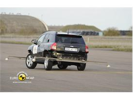Jeep Compass – ESC crash test