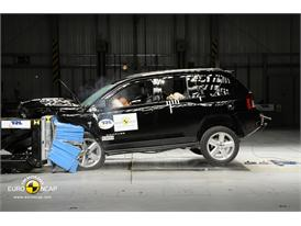 Jeep Compass – Front crash test