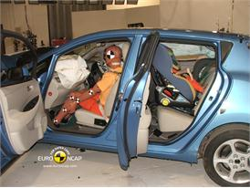 Nissan Leaf – Driver crash test