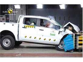 Ford Ranger – Front crash test