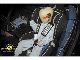 Mazda CX-5 – Child Rear Seat crash test