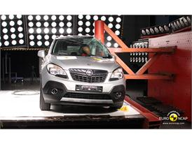 Opel Mokka Pole crash test 2012