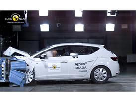 Seat Leon Frontal crash test 2012