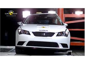 Seat Leon Pole crash test 2012