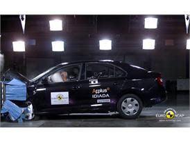 Skoda Rapid Frontal crash test 2012