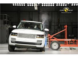 Range Rover Side crash test 2012