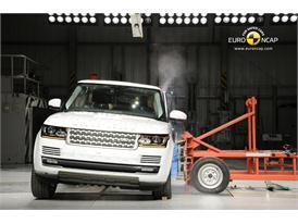 Range Rover Side crash test 2012