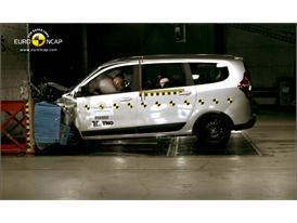 Dacia Lodgy Frontal crash test 2012