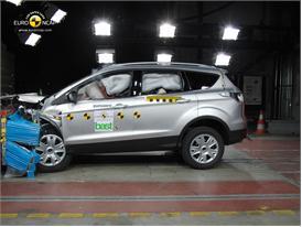 Ford Kuga Frontal crash test 2012