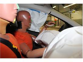 Ford Kuga Frontal crash test 2012 - Driver