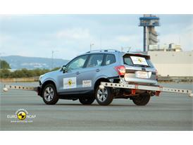 Subaru Forester ESC Tests 2012