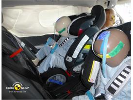 Volvo V60 Plug-In Hybrid  Child Rear Seat crash test 2012