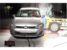 VW Golf  Side crash test 2012