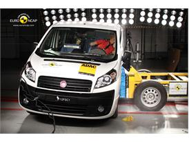 FIAT Scudo Side crash test 2012