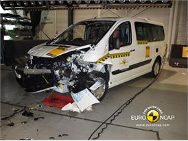 Fiat Scudo - Frontal crash 2012 - after crash