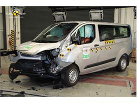 Ford Transit Custom - Frontal crash 2012 - after crash