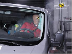 Ford Transit Custom Side crash test 2012