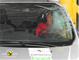 Ford Transit Custom Pole crash test 2012