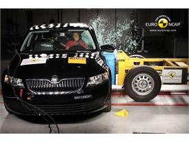 Skoda Octavia - Side crash test 2013