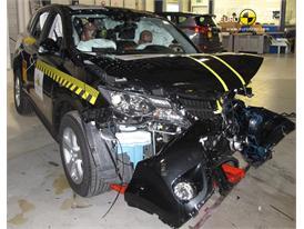 Toyota RAV4 - Frontal crash test 2013 - after crash