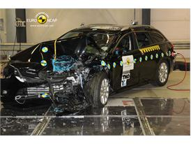 Mazda 6 - Frontal crash test 2013 - after crash