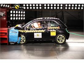 Opel/Vauxhall Adam- Frontal crash test 2013