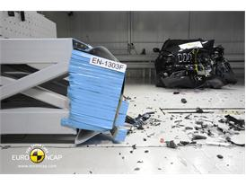 Jeep Cherokee - Frontal crash test 2013 - after crash