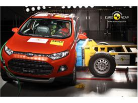 Ford EcoSport - Side crash test 2013