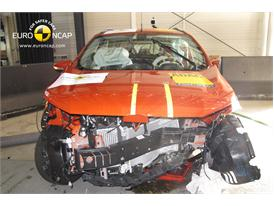 Ford EcoSport - Frontal crash test 2013 - after crash