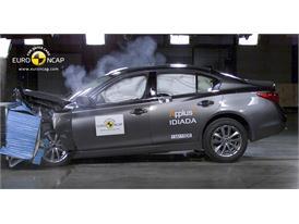 Infiniti Q50  - Frontal crash test 2013