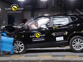 Nissan Qashqai  - Frontal crash test 2014