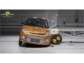 Ligier IXO JS LINE 4 places - Side crash test 2014