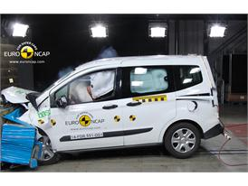 Ford Tourneo Courier  - Frontal crash test 2014