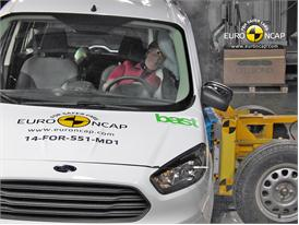 Ford Tourneo Courier - Side crash test 2014