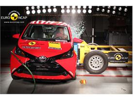 Toyota Aygo  - Side crash test 2014